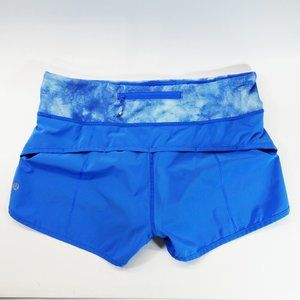 "EUC, Lululemon Speed Up Short Dream Blue, 2.5"", 6"